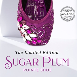 Capezio Introduces New Limited Edition Bejeweled Sugar Plum Pointe Shoe