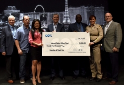Valor of Law Enforcement Community at Route 91 Concert Tragedy Honored with $25,000 Grant from Cox