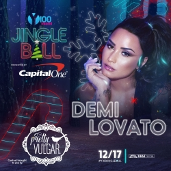 Meet Demi Lovato at Y100 Jingleball with Pretty Vulgar