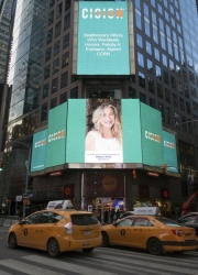 Felicity A. Erdmann, Alumni CCRN Honored on the Reuters Billboard in Times Square in New York City by Strathmore's Who's Who Worldwide Publication