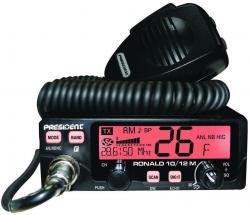 "President Electronics USA Introduces the ""Ronald"" AM FM 10/12 Meter Radio"