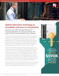 Principled Technologies Publishes Report Showing How Upgrading to HPE Synergy 480 Gen10 Compute Modules Can Help Companies Save on OpEx