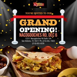 L Taco Mexican Cafe Grand Opening