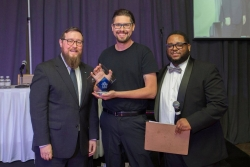 Podcaster Awarded Top Fundraiser by South Oakland Shelter