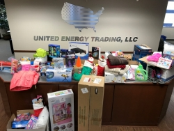 United Energy Trading Adopts Family of Seven for Operation Santa