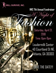 A Night of Fashion Returns to Atlanta with Upcoming Event Hosted by I Will Survive, Inc.