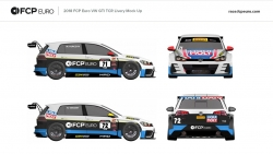 FCP Euro Enters Two Volkswagen GTI TCRs in The 2018 Pirelli World Challenge Season