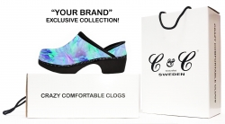 Clogs by C&C SWEDEN Launches Brand Exclusive Custom Print Program