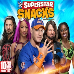 PLB Sports, Leader in Athlete-Endorsed Food Products, Launches Brand-New WWE Fruit Snacks Featuring Top Names in Wrestling