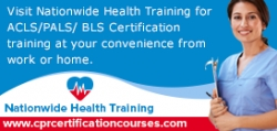 Nationwide Health Training is Now Offering ACLS, PALS, and BLS Certification Classes