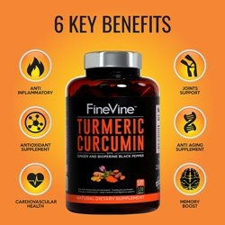 FineVine Organics Launches Turmeric Curcimin