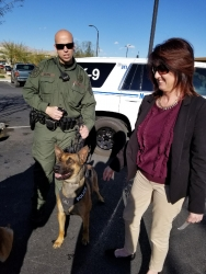 Retired Las Vegas 911 Dispatcher Turns Successful Realtor with Bentley Realty Group and Pays It Forward in K-9 Community