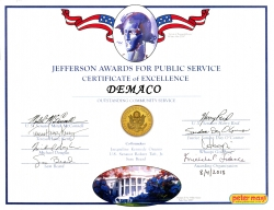 DEMACO is Recognized for Public Service