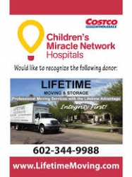 Lifetime Moving & Storage Gives Back to the Community