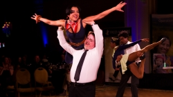 "HOA Manager Paul Mengert and President of Association Management Group Competes in 10th Annual ""Dancing With The Carolina Stars"""