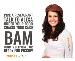 Orderscape Voice Technology Announces Full-Menu Ordering Certification by Amazon