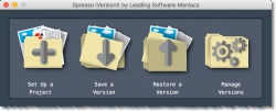 Leading Software Maniacs Announces the Release of Spresso™ iVersionIt™ for Windows and macOS