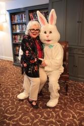 Easter Bunny Visits Senior Living Communities in Austin