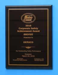 DEMACO Recognized for Safety While Making Pasta Machines