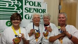 Women of In-Gauge Score Gold at Polk Senior Games