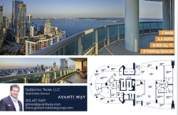 Avanti Way Announces Newly Listed Penthouse at Santa Maria in Brickell