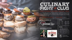 Culinary Fight Club Announces the 2018 Blended Burger Battles Series in 8 Cities