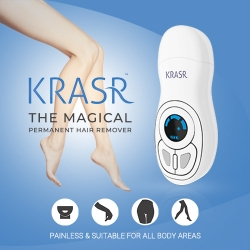 Krasr Launches the Magical Permanent Blu-Ray Thermal Technology Hair Remover