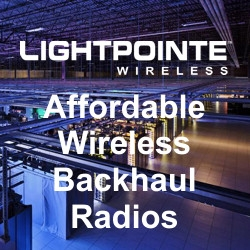 LightPointe Delivers Affordable 80 GHz Radios to Leading Telecom Service Providers, Enabling Redundant Wired & Wireless Connectivity to Data Center Customers