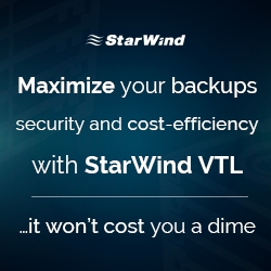 StarWind Releases Free Virtual Tape Library Solution Featuring Object Storage and Public Cloud Storage Support