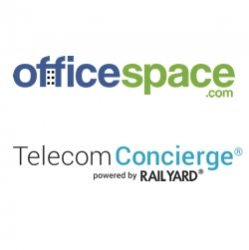 OfficeSpace.com Integrates Rail Yard Telecom Concierge® to Help Tenants Make Informed Telecom Decisions for CRE Properties