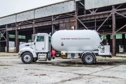 Custom Truck One Source Rolls Out New Load King Propane Crane Service Truck