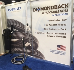 Successful Launch of the New Diamondback Retractable Hose by Plastiflex