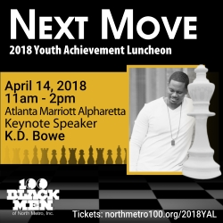 Youth Achievement Luncheon Presented by the 100 Black Men of North Metro, Inc.