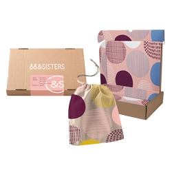 Introducing &SISTERS, the UK's First Certified Organic Cotton Customisable Period Care Subscription Box