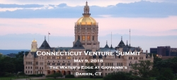 Connecticut Venture Summit, May 8, 2018 in Darien, CT