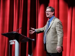 Lee Strobel Speaks at Plumstead Christian School's Eighth Annual Founders Forum & at Plumstead Christian School's First-Ever Multi-School Assembly