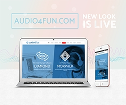 Audio4fun's Website Has Been Transformed Into a More Elegant and Interactive Version
