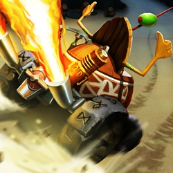 Arb Studios, the Developer of Tiki Kart 3D (Top App Jan. 2012), Has Finally Released Its Sequel Tiki Kart Island for iOS and Android