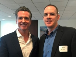 SolarCraft, North Bay's Solar Leader, CEO Ted Walsh and California Lt. Governor Gavin Newsom Discuss Energy, Economics & the Environment