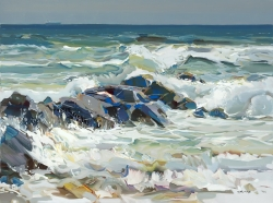 Josef Kote in Stone Harbor Over Memorial Day Weekend - Exhibit at Ocean Galleries to Feature All New Art