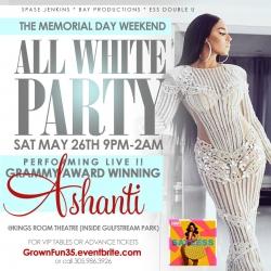 Grammy Award Winning Artist Ashanti Joins a Busy Miami Memorial Day Weekend
