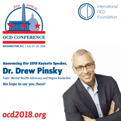 Dr. Drew to Deliver Keynote Address at 25th Annual OCD Conference 