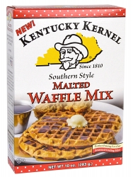 New Southern-Style Malted Waffle Mix Launched by Kentucky Kernel