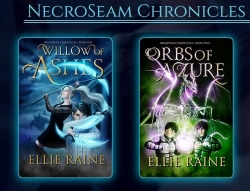 "Fantasy Author Ellie Raine Announces Her New Series ""the NecroSeam Chronicles,"" a Scythe and Sorcery Epic Adventure That Puts a Whole New Spin on the Grim Reaper"