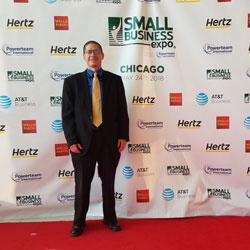 Media Moon Representatives Attended the Small Business Expo in Chicago as VIP Attendees