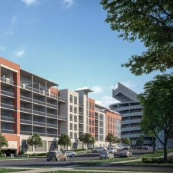 Construction Begins on Luxury Condo Development Next to Bryant Denny Stadium