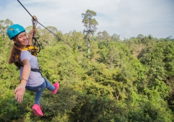 Angkor Zipline is the Only Permanent Educational Eco-Adventure Tour Operating Inside Angkor Archeological Park in Cambodia