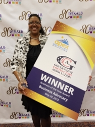 GCA Honored During the Dekalb Chamber's 2018 Apex Awards as the Winner of the Business of the Year Award in Business Advocacy