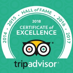 Ecuador Freedom Awarded TripAdvisor Certificate of Excellence for Five Consecutive Years