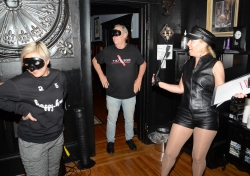 Book an SF Bay Area BDSM Dungeon Tour with Pro Femdom Goddess Justine via Airbnb Experiences App